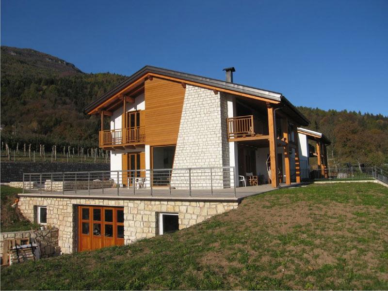 Case In Tronchi Di Legno Trentino : Architetti portale del legno trentino